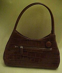 Monsac Original crocodile leather purse, BEAUTIFUL
