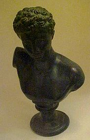 Bronze bust of  Ermes Hermes