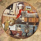 Kitty Cargo collector plate by Charles Wysocki