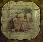 Sisters Love Forever Dona Gelsinger collector plate