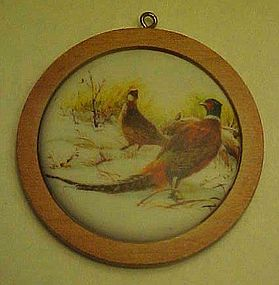 Hallmark 1984 Ring Neck Pheasant  Wildlife ornament