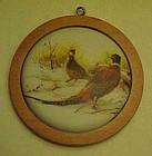 Hallmark 1984 Ring Neck Pheasant  Wildlife ornament