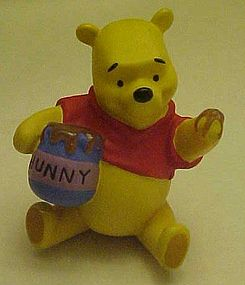 Disney Winnie the Pooh with honey pot  PVC figure
