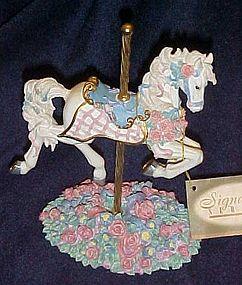 Toni Baley Serenade carousel horse figurine Westland