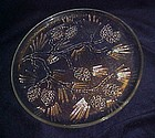 Tiara crystal Ponderosa Pine dinner plate