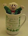 Irish coffee mug with Irish quote,  with free bonus