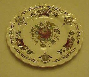 Myotts Staffordshire Bouquet bread and butter plate