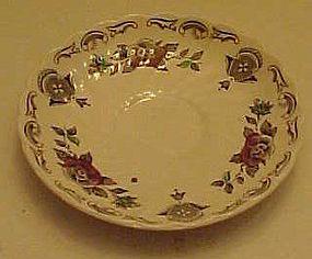 "Myotts Staffordshire Bouquet saucer 5 1/2"""