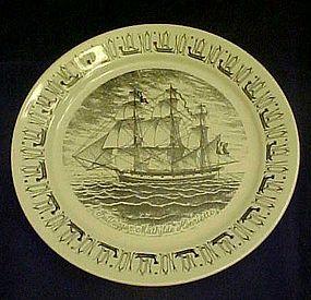 Norwegian American Line  china plate Mathilde Henriette