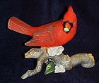 Avon porcelain cardinal figurine 1985