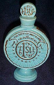 First National Bank miniature decanter bottle 1975 MBC