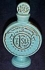 First National Bank miniature decanter bottle 1975 MBC
