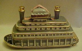 OBR River Queen Riverboat  paddle boat decanter