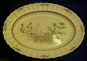 "Spode Copeland Rosalie oval serving platter 13"""
