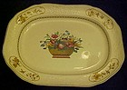 Antique Spode Copeland 2/7199 rectangular platter 14.5""