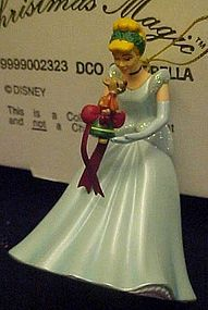 Disney Christmas Magic Cinderella ornament MIB