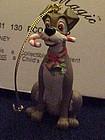 Disney Christmas Magic Tramp ornament MIB