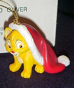 Disney Christmas magic Oliver ornament MIB