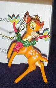 Disney Christmas Magic Bambi ornament MIB