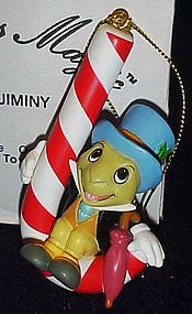 Disney Christmas magic Jiminy Cricket ornament MIB