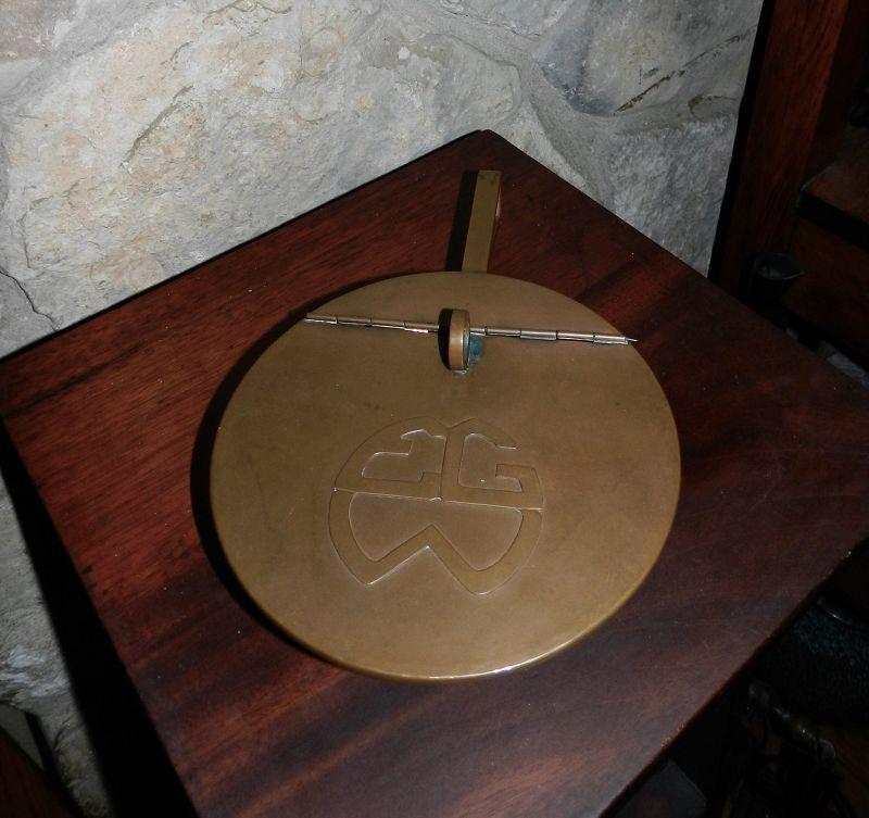 Dirk Van Erp Arts & Crafts Hammered Copper SilentButler