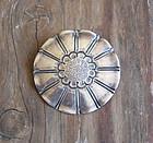 Roycroft Walter Jennings Sterling Arts Crafts Brooch