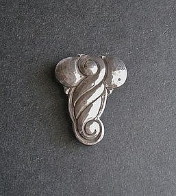 Erik Magnussen Arts Crafts Clip Sterling Denmark