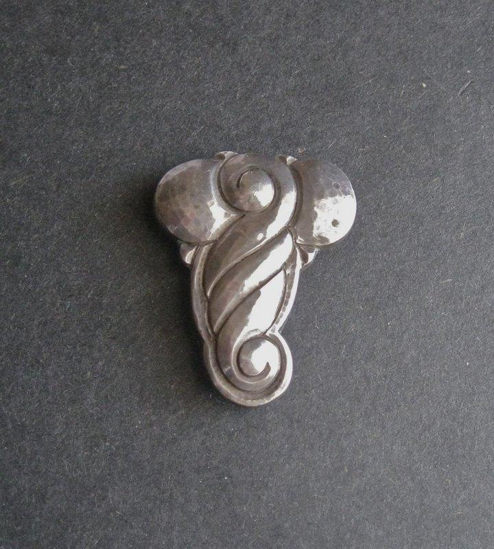 Erik Magnussen Arts Crafts Clip Sterling Denmark