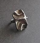 Vintage Modernist Sterling Ring Hyvarinen Finland