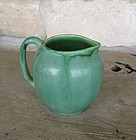 William Jervis Arts & Crafts Green Pottery