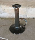 Wannopee Pottery Arts & Crafts Tall Candleholder
