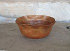 Signed Hammered Copper Arts & Crafts Bowl