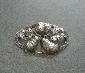 Kalo Sterling Hand Wrought Brooch 107