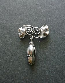 Alphonse La Paglia Sterling Silver Brooch 126