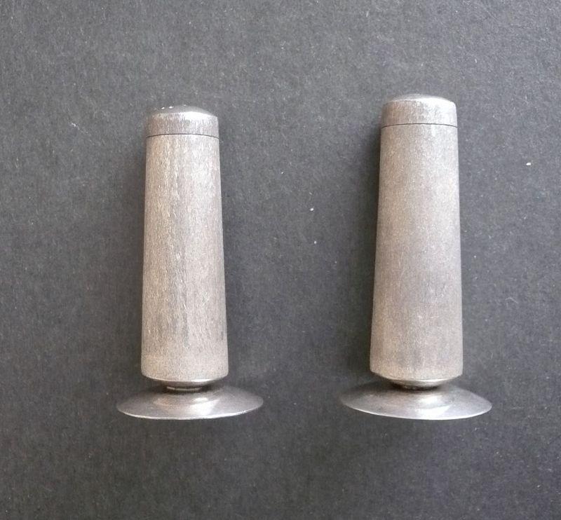 Vintage Taxco Rancho Alegre Sterling Salt Pepper Shakers MCM Giles