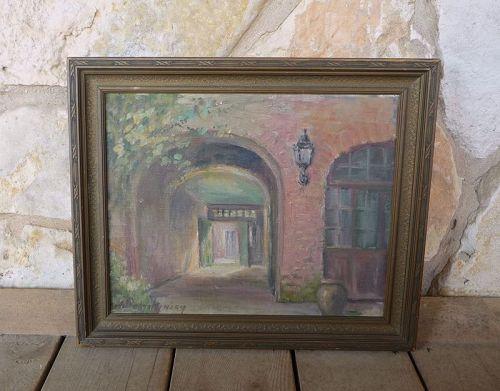 Alberta Kinsey 1924 New Orleans Louisana Artist Painting