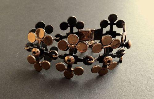 Pentti Sarpaneva Bronze Bracelet Finland Modernist Nordic