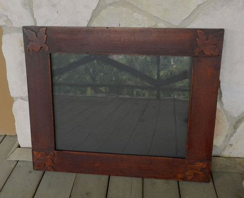 Large Roycroft Oak Frame by Head Carpenter William Roth