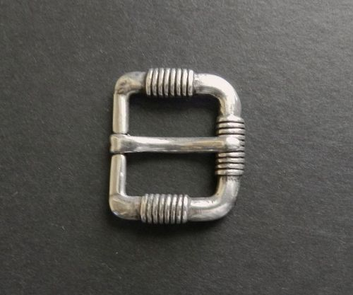 Rare Spratling Taxco Sterling Buckle Wire Wrapped WS Third Design Per