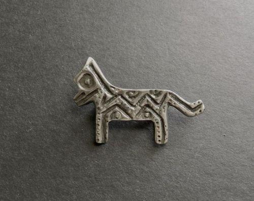 Modernist Winifred Mason Chenet d'Haiti Voodoo Brooch Animal Creature