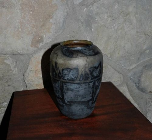 Russell Crook Arts & Crafts Period Pottery Vase