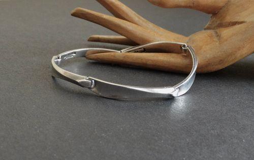 Vintage Lapponia Agena Modernist Sterling Bracelet Zoltan Popovits