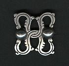 Early Artemio Navarrete Taxco 940 Silver Brooch