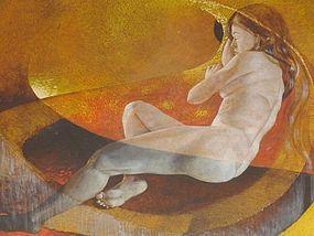 """ERNEST O. BROWN, """"DELACROIX REVISITED"""" 1971"""
