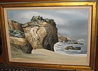 GERALD BROMMER, ORIGINAL WATERCOLOR, EL MATADOR, 1968