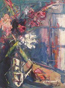 ALEXANDER (ALEX) REDEIN, FLORAL STILL LIFE, 1945-1950