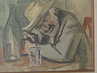 MARCO NOVATI, OLD MAN DRINKING, 1940S