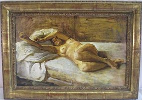 "JASON B. FISHBEIN  ""RECLINING NUDE"""