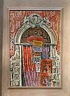 "JOAN KEMPSMITH, ""FLORENTINE ARCHITECTURAL FANTASY"" 1950"