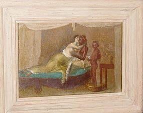 "PIERRE CARRON, ""SCENA D'AMORE"", 1964."